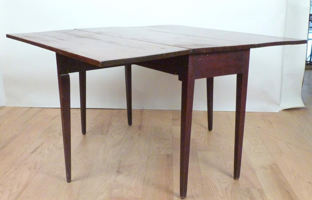 English Style Drop Leaf Table - 2