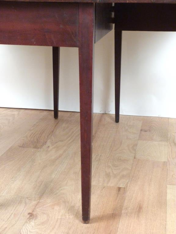 English Style Drop Leaf Table - 5