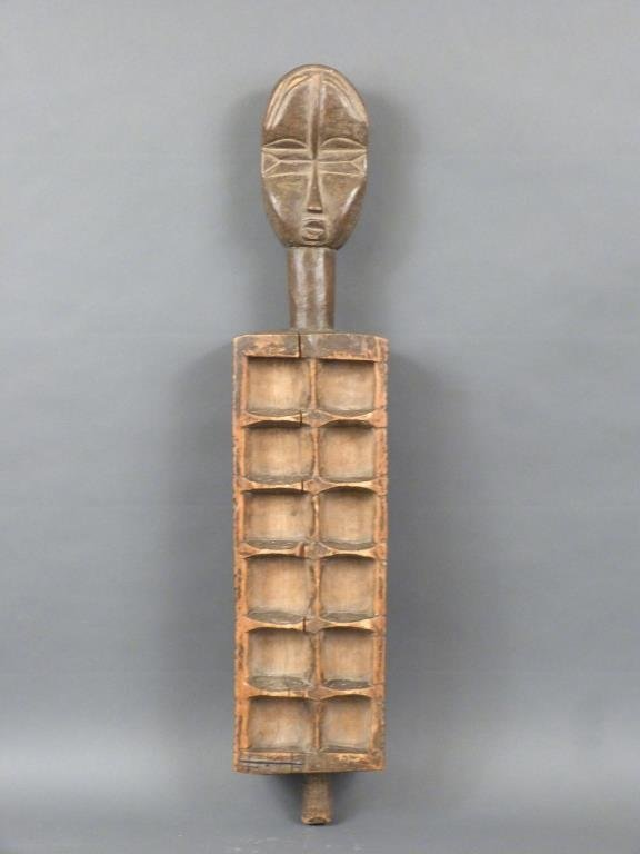 African / Ethnographic Carved Container