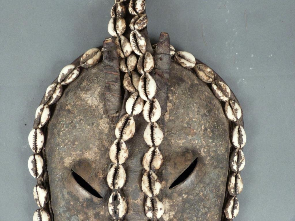 African / Ethnographic Decorative Mask - 4