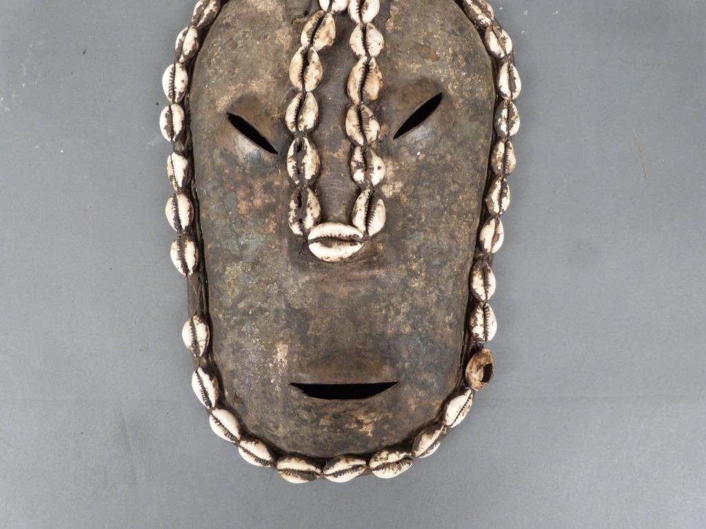 African / Ethnographic Decorative Mask - 6