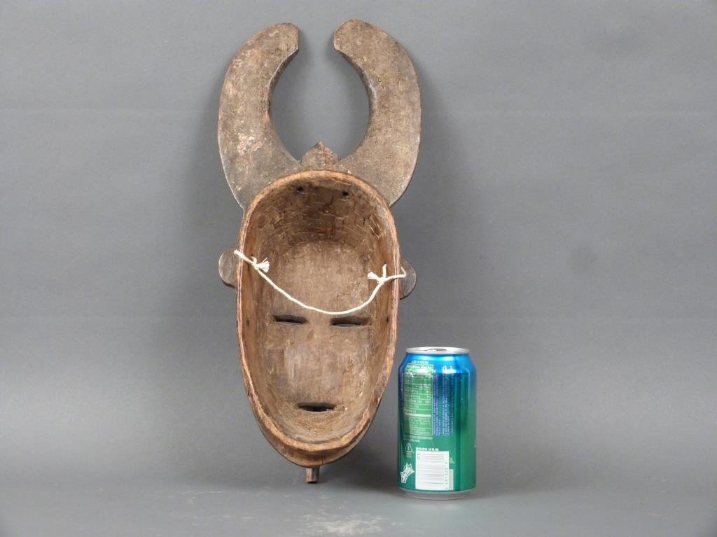 African / Ethnographic Carved Wood Mask - 2