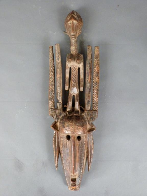African / Ethnographic Carved Wood Mask