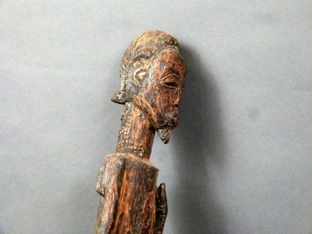 5 African / Ethnographic Carved Wood Figures - 4