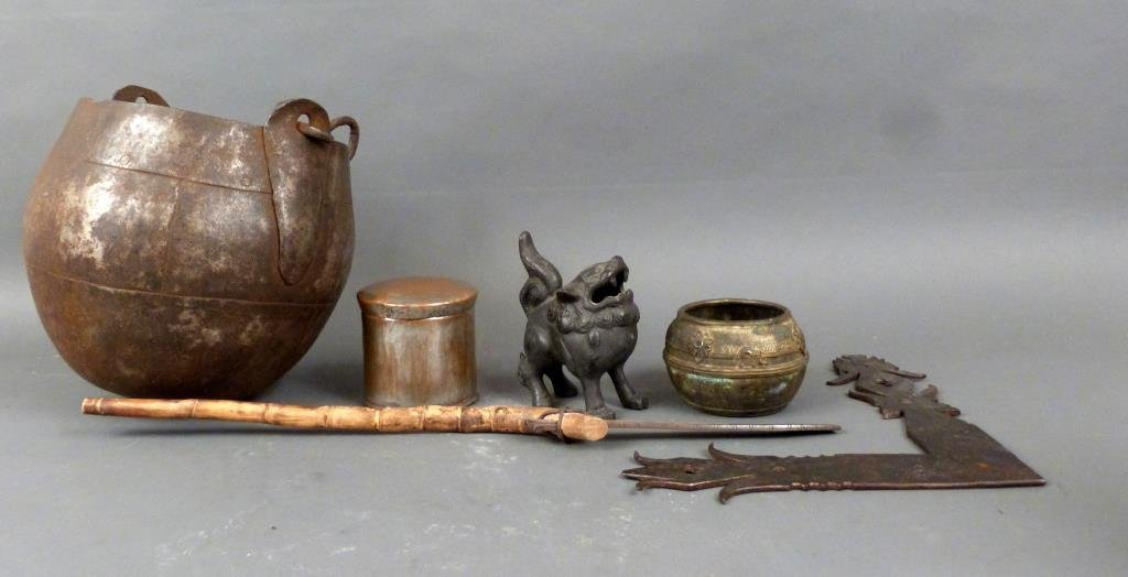Assortment of Bronze and Metal Articles