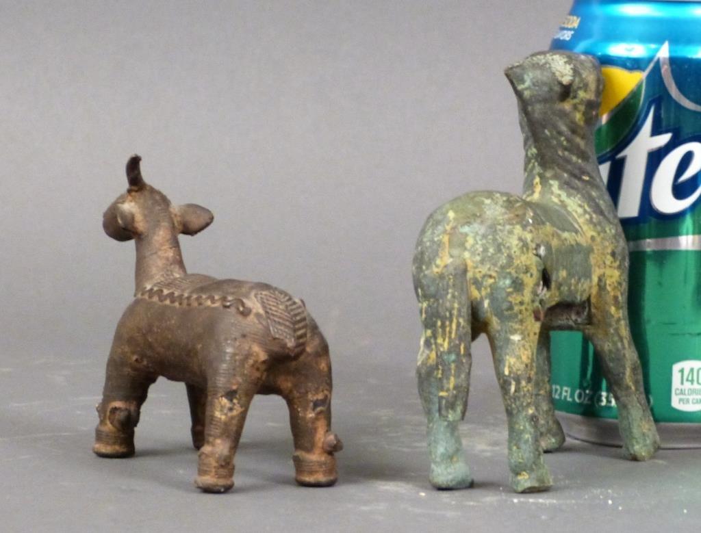 2 Far Eastern Bronze Animals - 2
