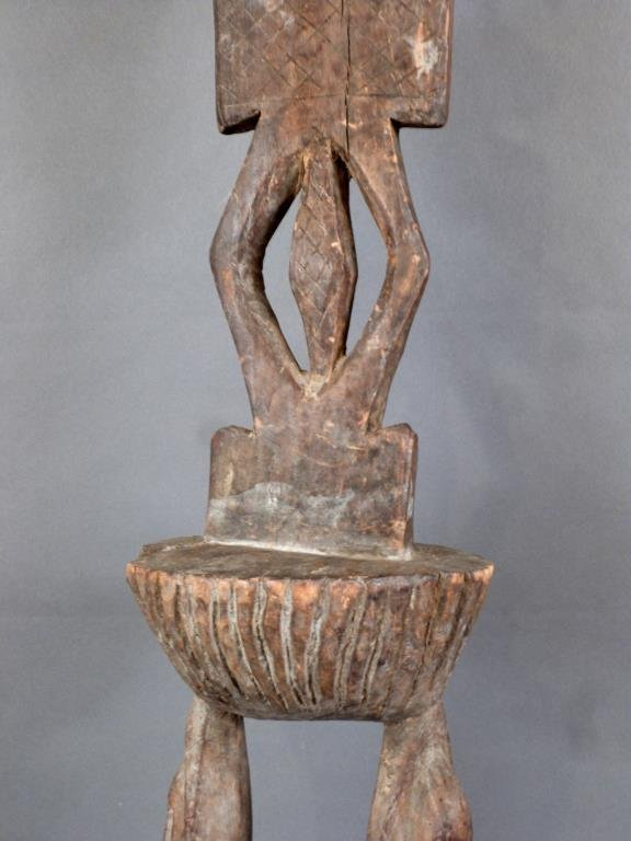 Tall Carved African Totem - 4