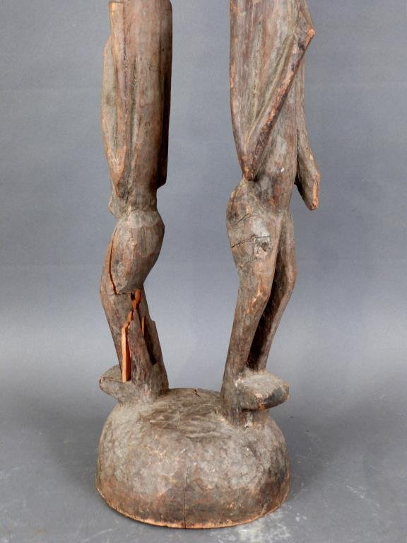 Tall Carved African Totem - 5