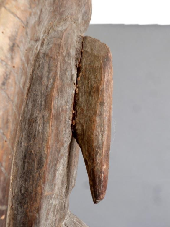 Tall Carved African Totem - 9