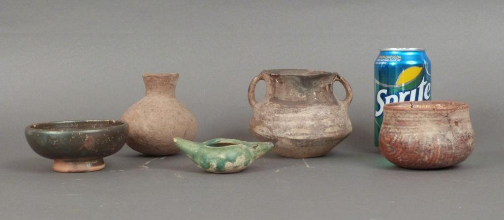 Five Pottery Articles - 2