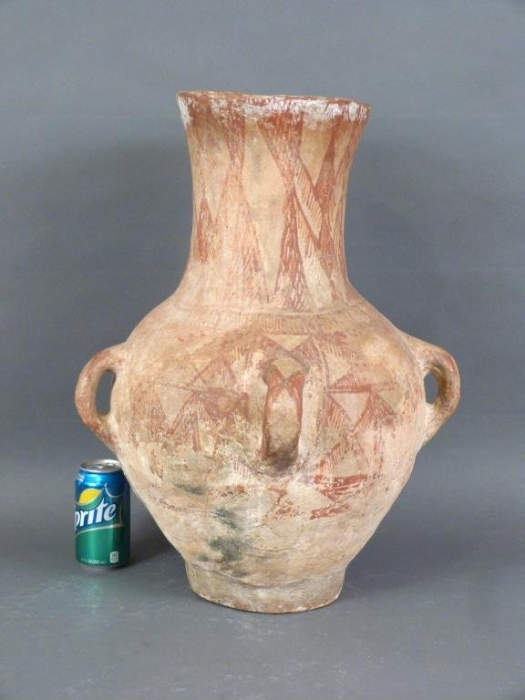 Large Pre-Colombian Style Vase - 3