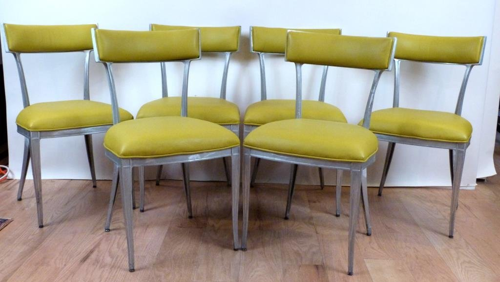 Set of 6 Hollywood Regency Side Chairs **