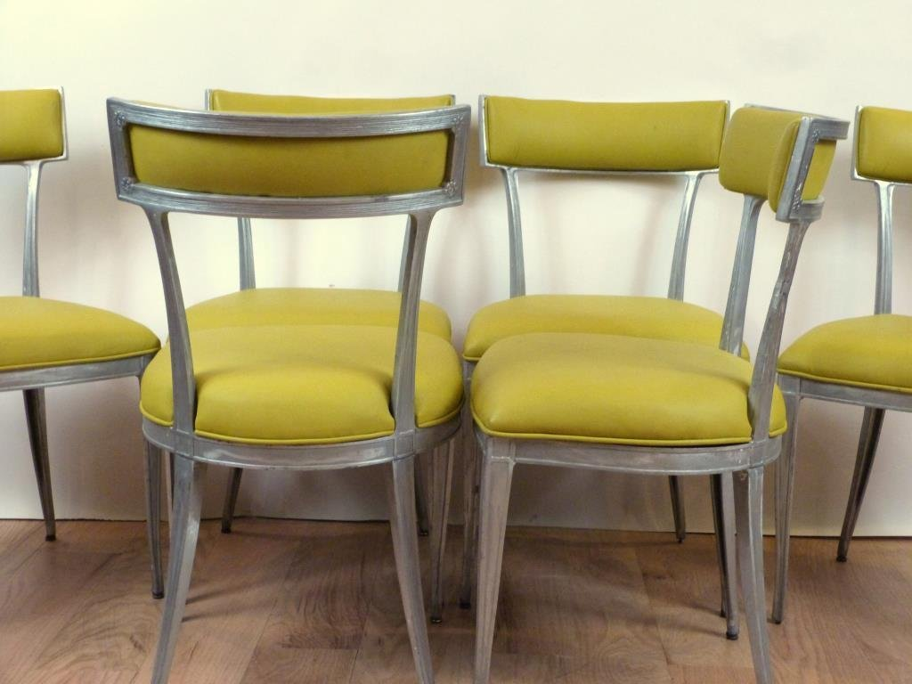 Set of 6 Hollywood Regency Side Chairs ** - 2
