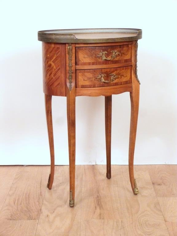 French Oval Petite Commode