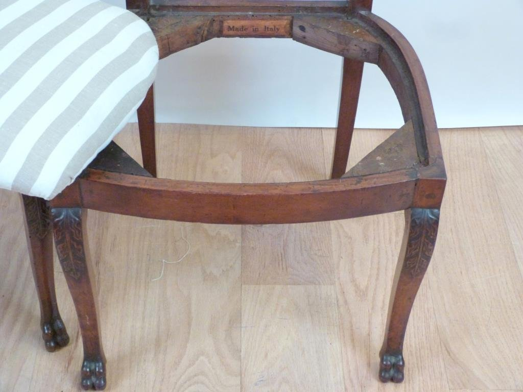 Pair Antique Italian Side Chairs - 3