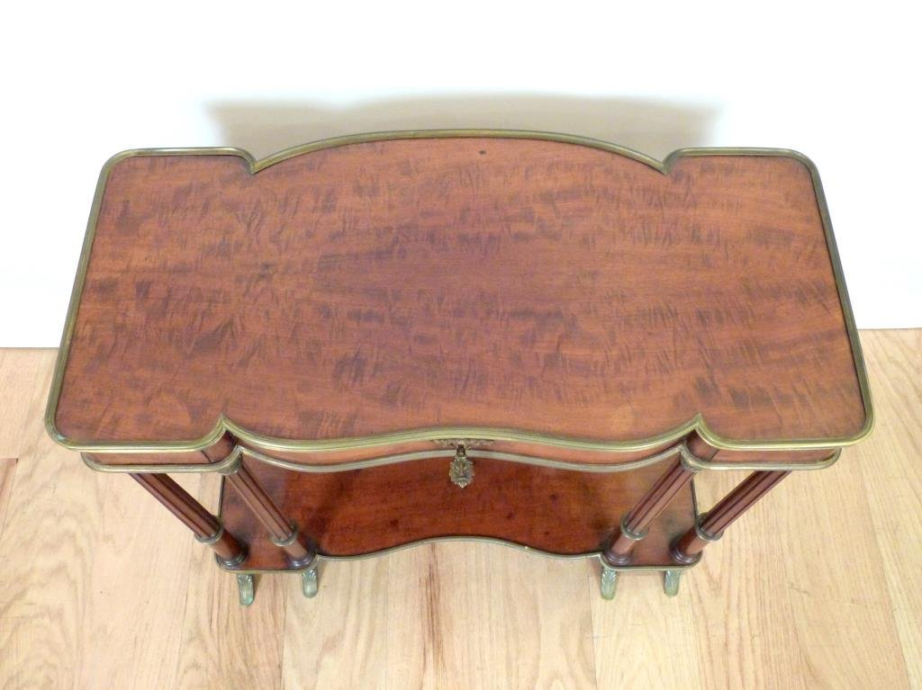 French Two Tier Small Console - 2