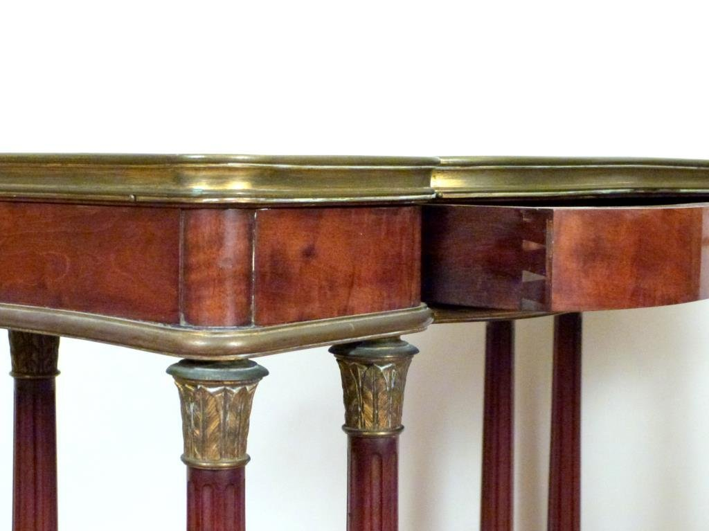 French Two Tier Small Console - 3