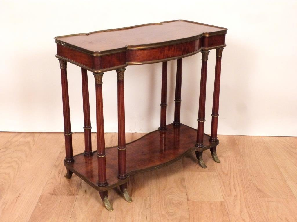 French Two Tier Small Console - 5