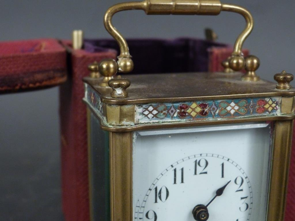 French Champ Levy Small Carriage Clock - 2