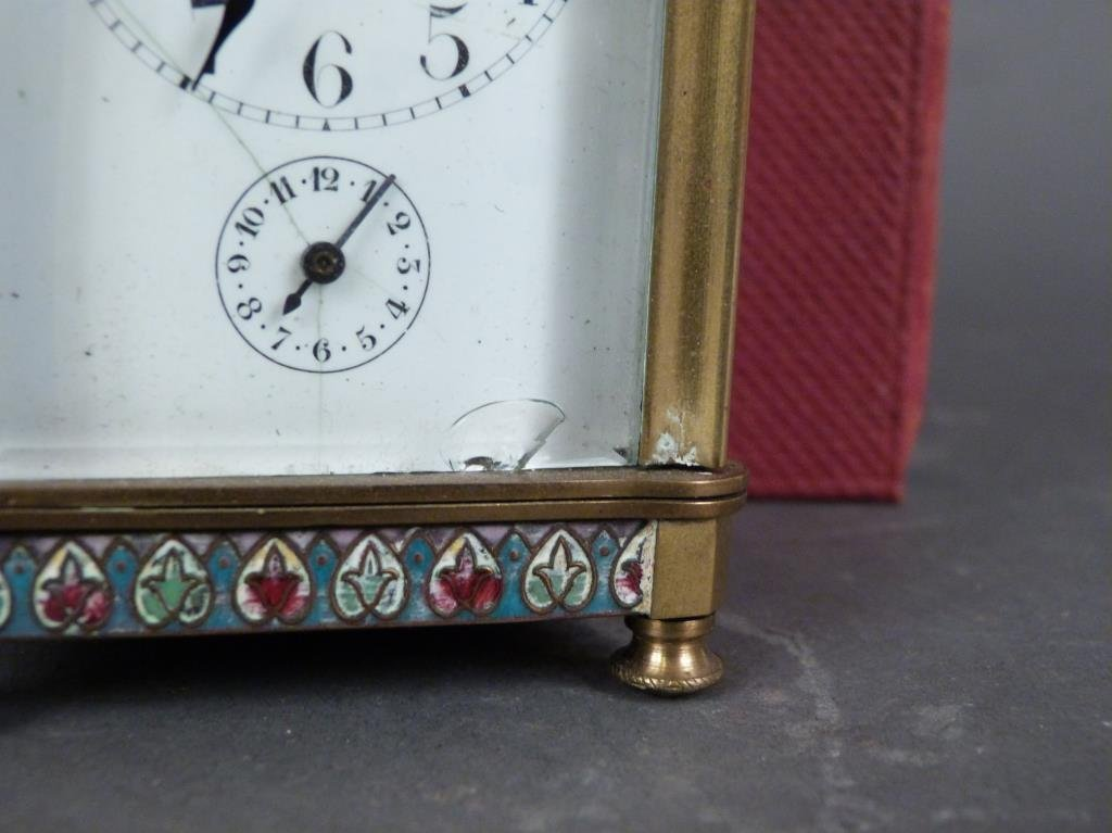 French Champ Levy Small Carriage Clock - 3