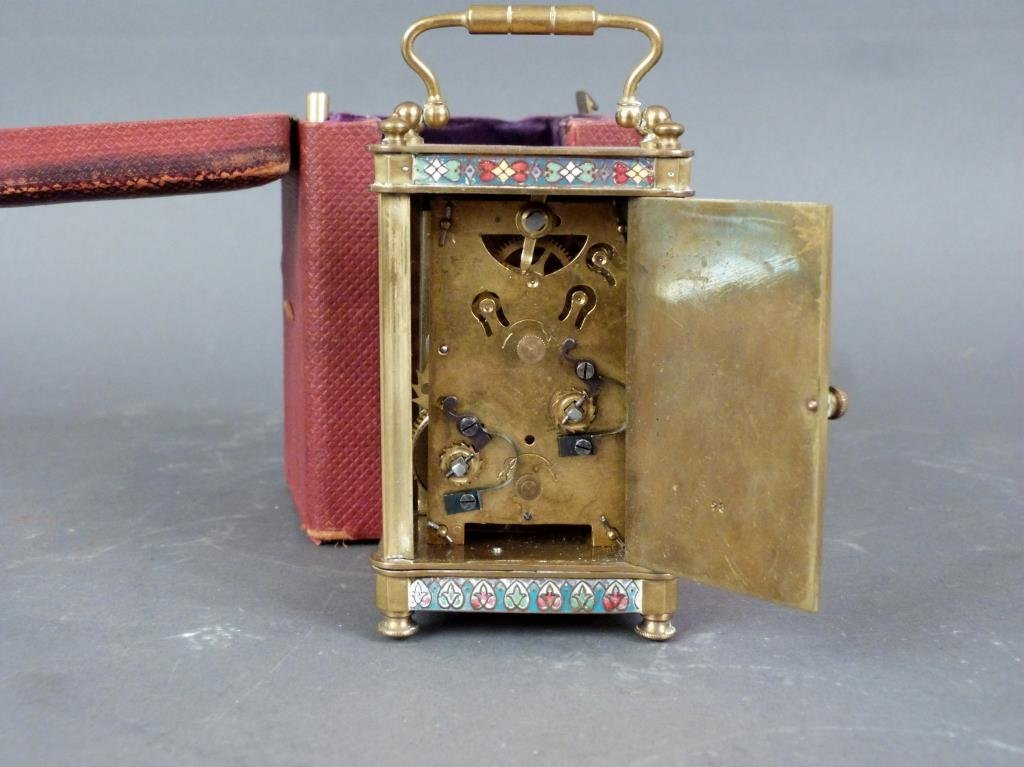 French Champ Levy Small Carriage Clock - 5