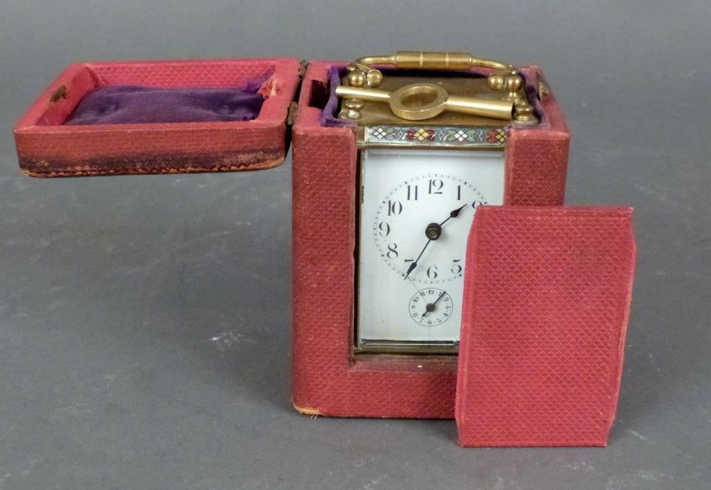 French Champ Levy Small Carriage Clock - 6