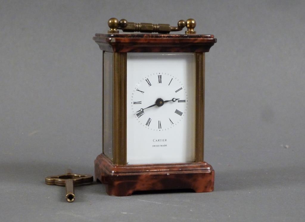 Cartier Miniature Swiss Carriage Clock