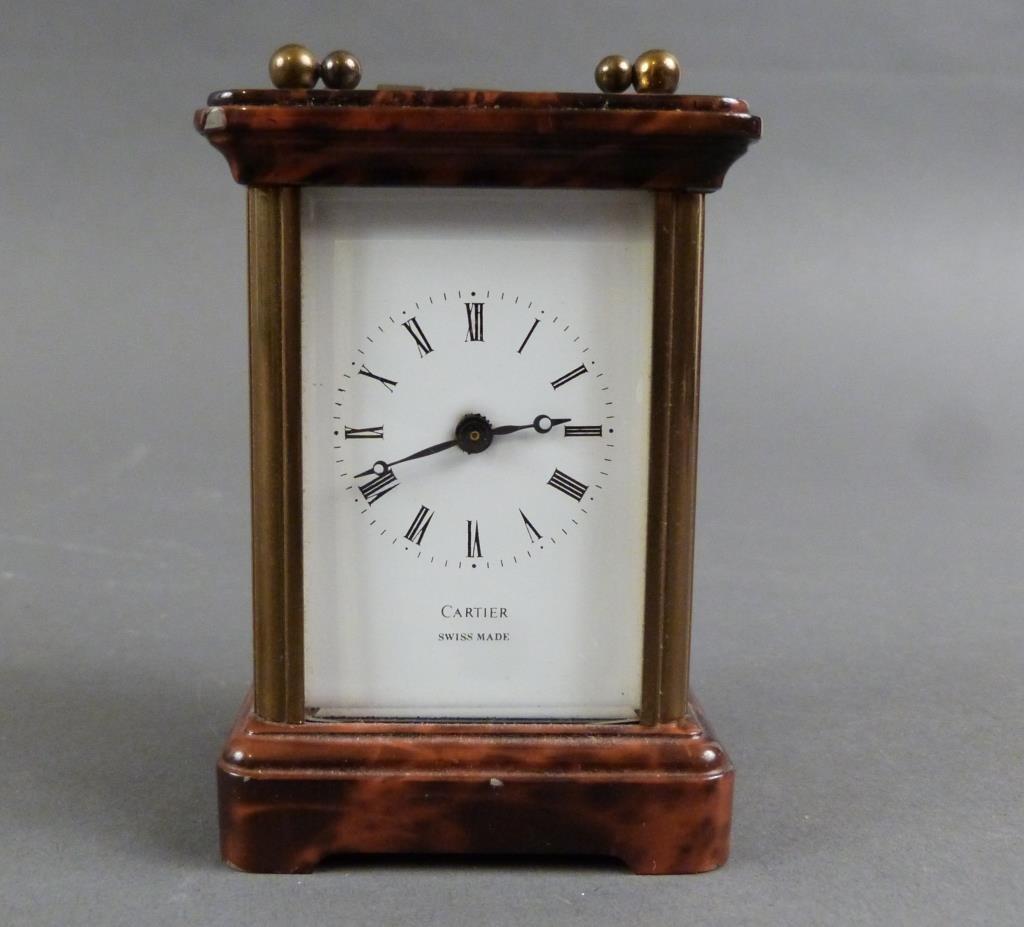 Cartier Miniature Swiss Carriage Clock - 2