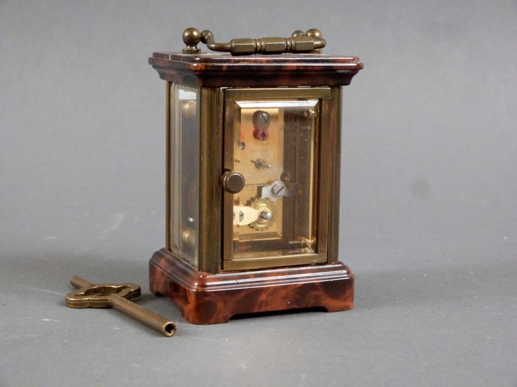 Cartier Miniature Swiss Carriage Clock - 3