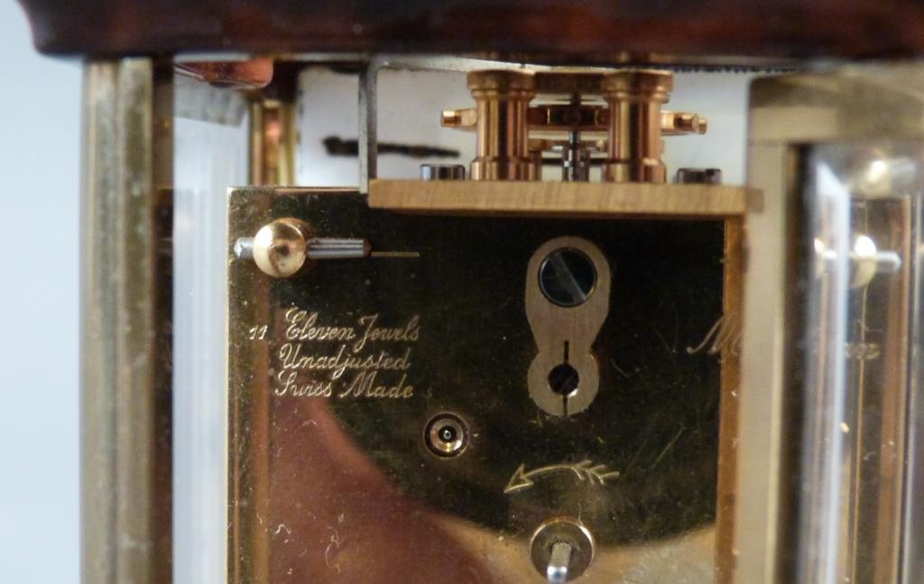 Cartier Miniature Swiss Carriage Clock - 4
