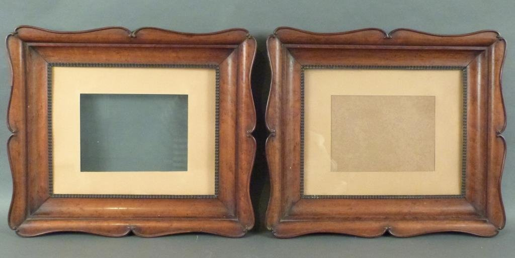 Pair Carved Frames
