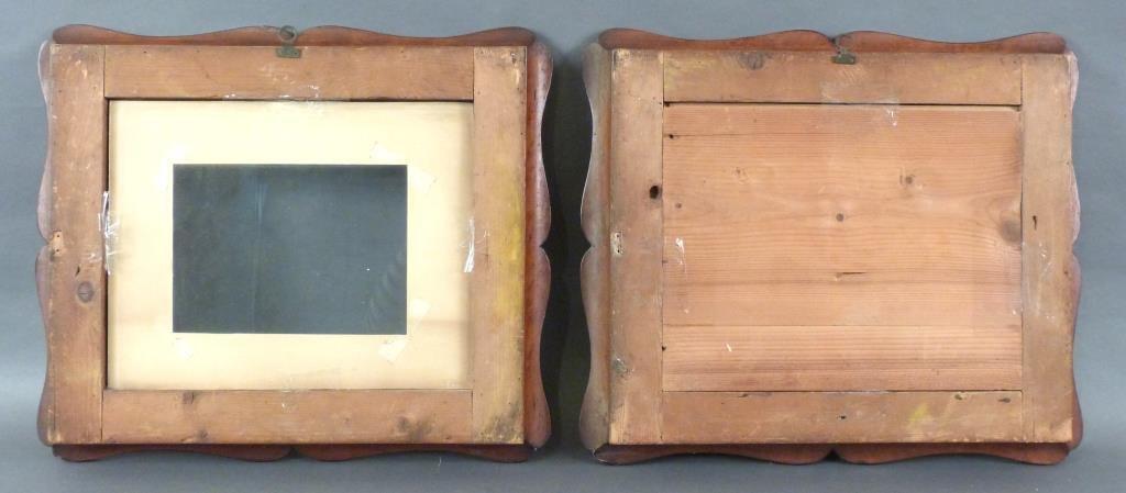 Pair Carved Frames - 3