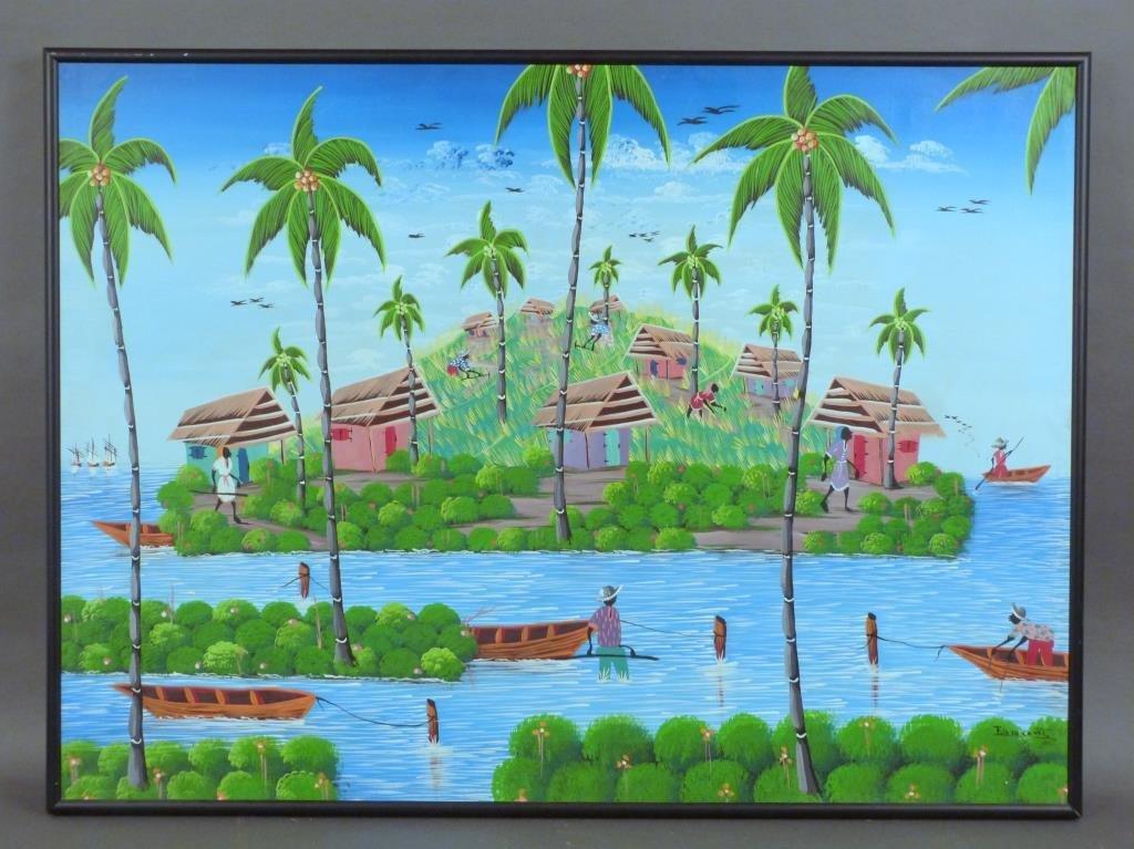 Fils De Cadet - Haitian Oil on Canvas