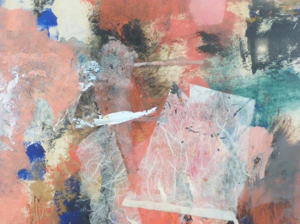 Signed Illegibly - Mixed Media on Paper - 3