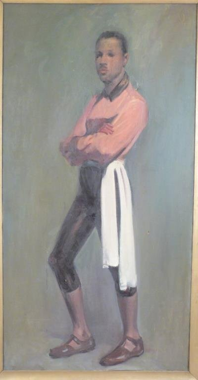 Oil on Canvas -  Portrait of a Young Mr. DePaul