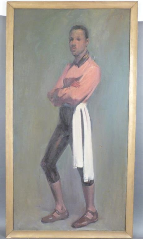 Oil on Canvas -  Portrait of a Young Mr. DePaul - 2
