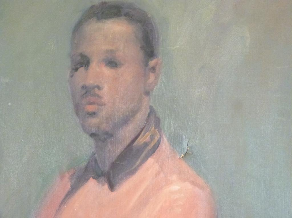 Oil on Canvas -  Portrait of a Young Mr. DePaul - 3
