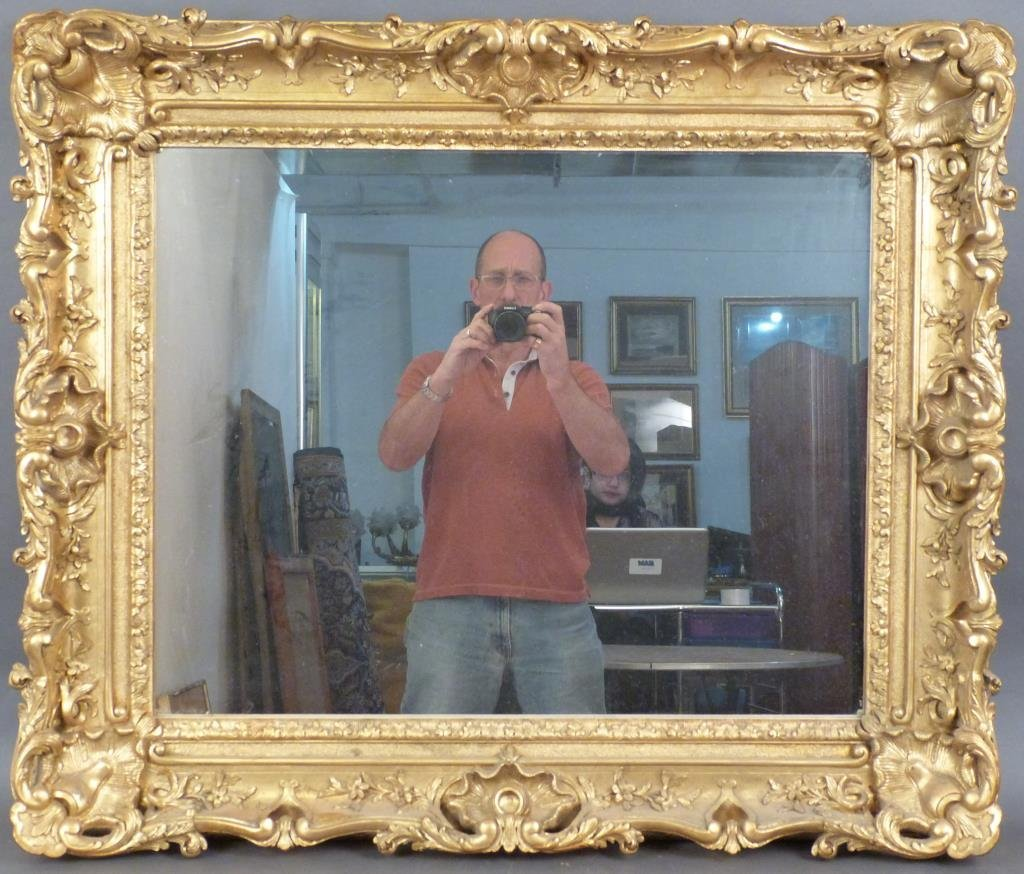 Georgian Style Gilt Framed Mirror