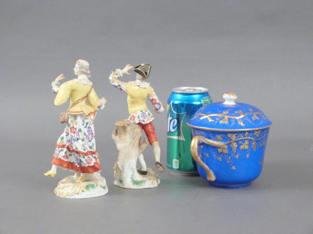 3 Porcelain Articles - 2