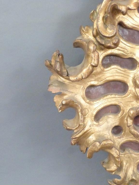 Florentine Style Gilt Wood Frame - 2