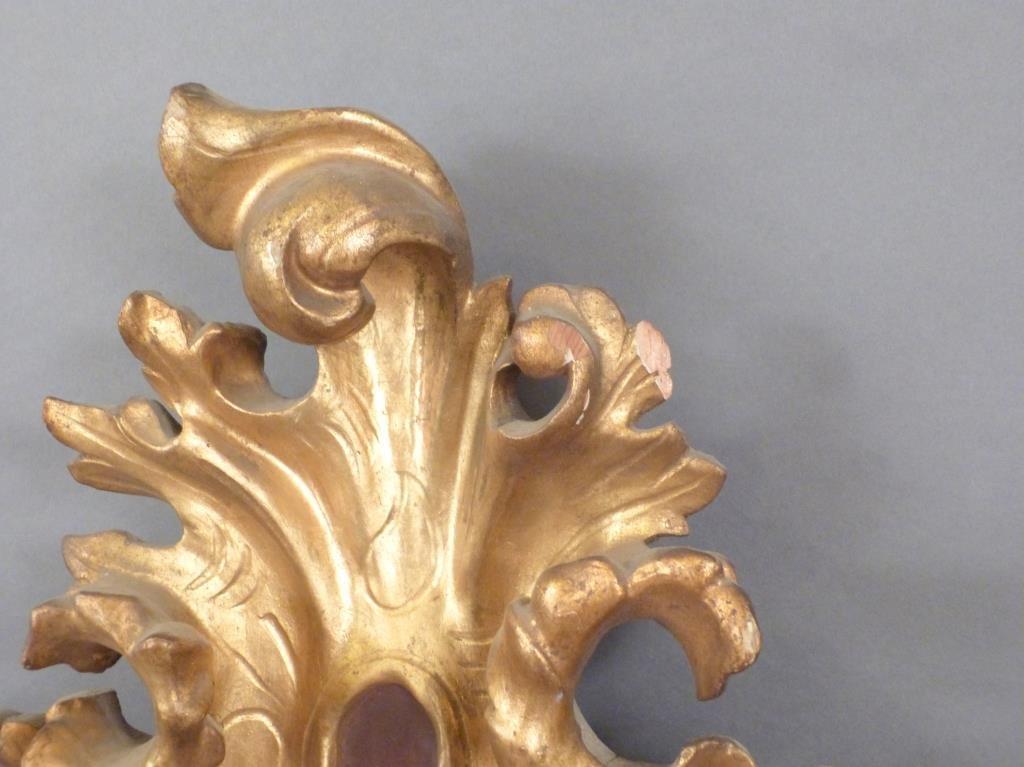 Florentine Style Gilt Wood Frame - 3