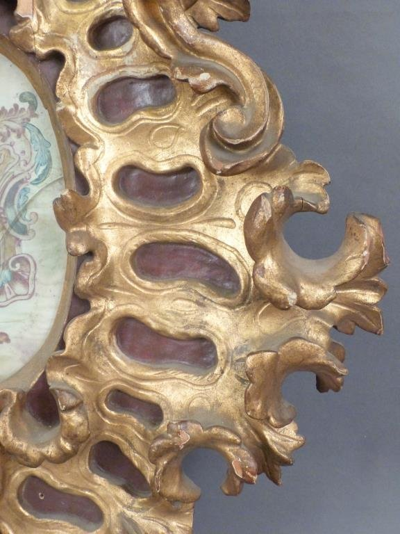 Florentine Style Gilt Wood Frame - 4