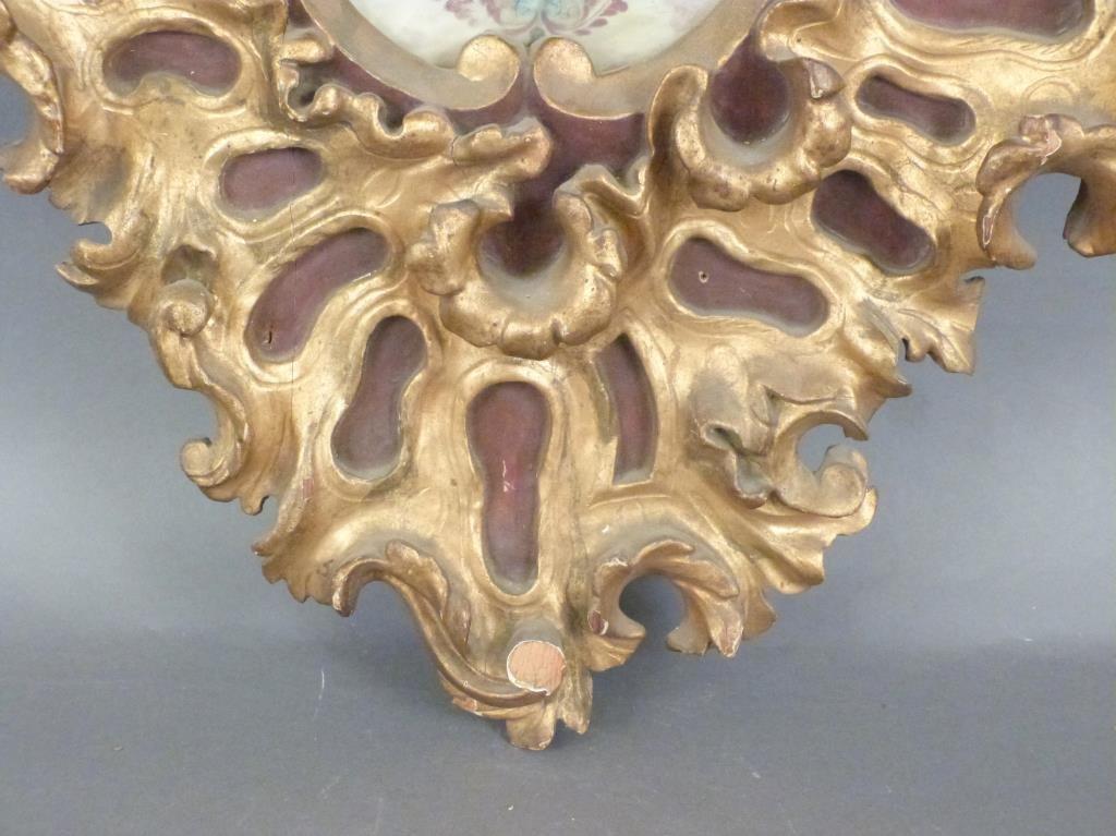 Florentine Style Gilt Wood Frame - 5