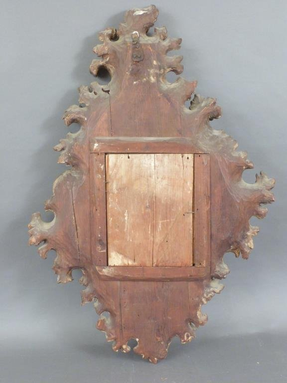 Florentine Style Gilt Wood Frame - 7