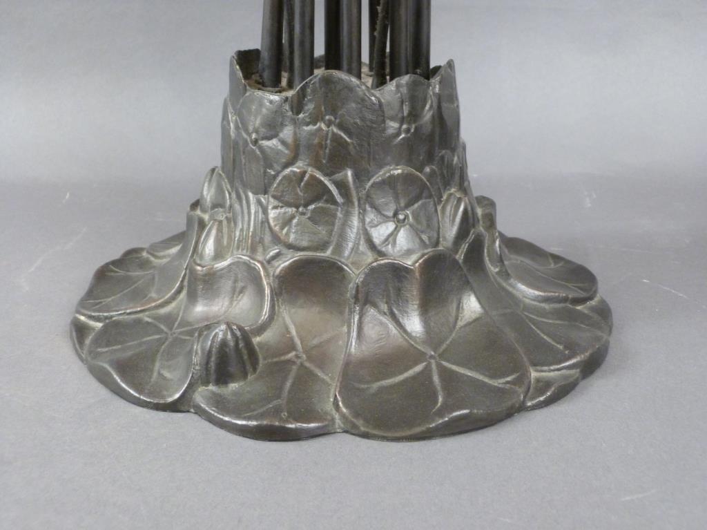 Tiffany Style 10 Light Table Lamp - 5