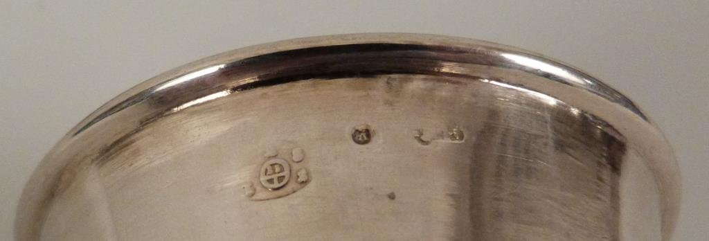 2 Continental Silver Beakers - 4