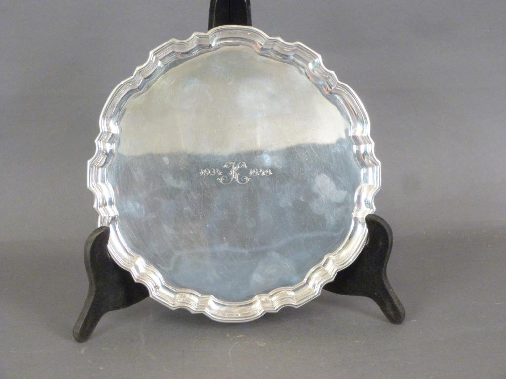 Tiffany & Co. Mid-Century Sterling Silver Tray