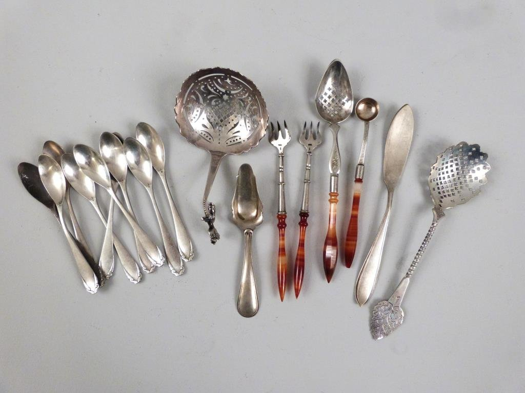 Assorted Dutch Silver Articles