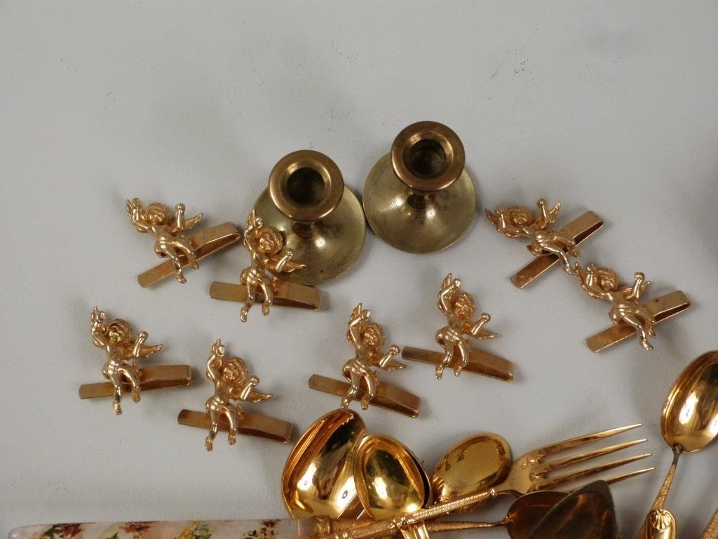 Assorted Gilt Plated Articles - 2