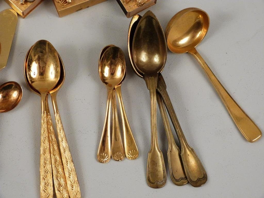 Assorted Gilt Plated Articles - 5
